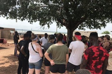 Students Tour in Ghana