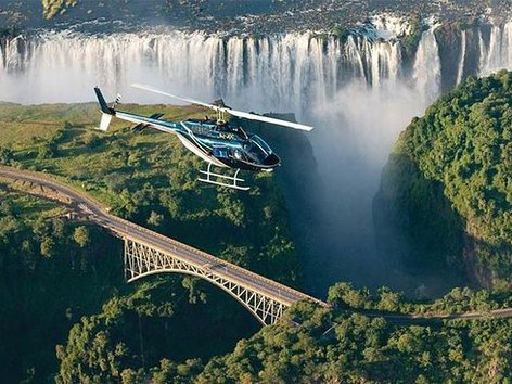 Flights Of The Angels Of Victoria Falls