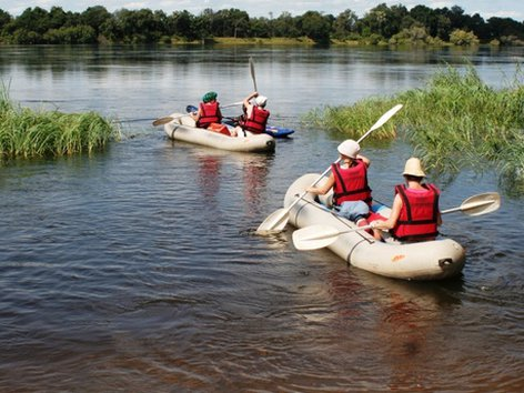 4nights/5days - Zambezi Canoe Safari Trail
