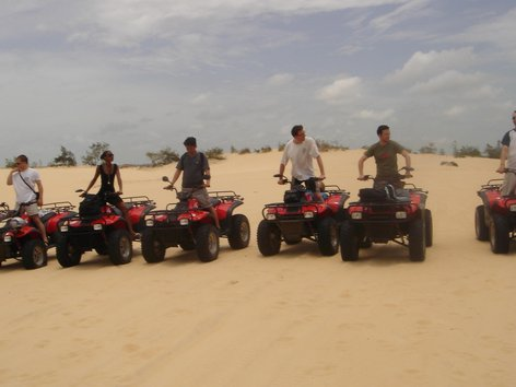 Excursions En Quads Au Lac Rose